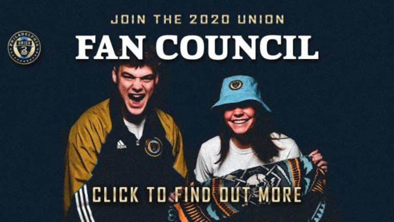 Apply today for the 2020 Union Fan Council - https://philadelphia-cms.mlsdigital.net/s3/files/styles/image_default/s3/images/JoinFanCouncil_Rot%20%281%29.jpg?itok=YtkmoIEt&c=c858ba880a4594103dd78382e7edf9ba