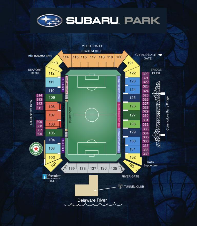SubaruPark_Map