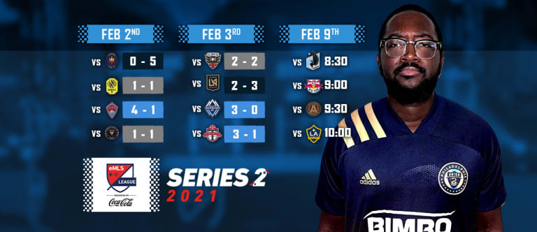 Cisse keeps momentum rolling at eMLS League Series Two -
