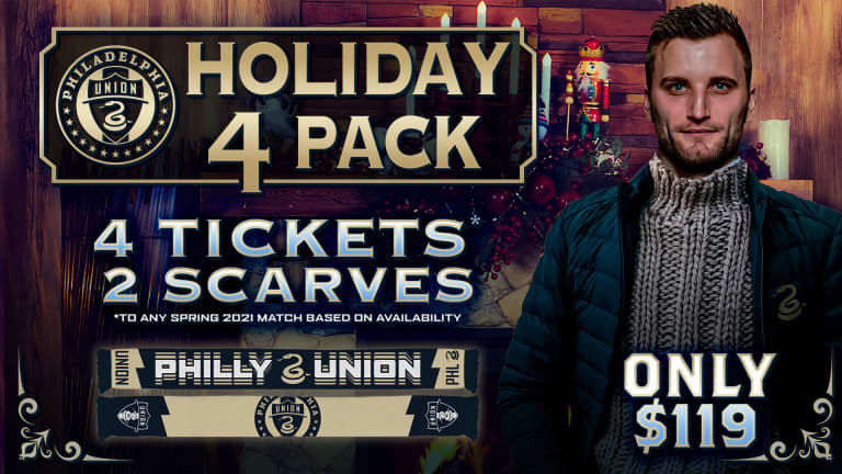 Union Holiday Four Pack on sale now -