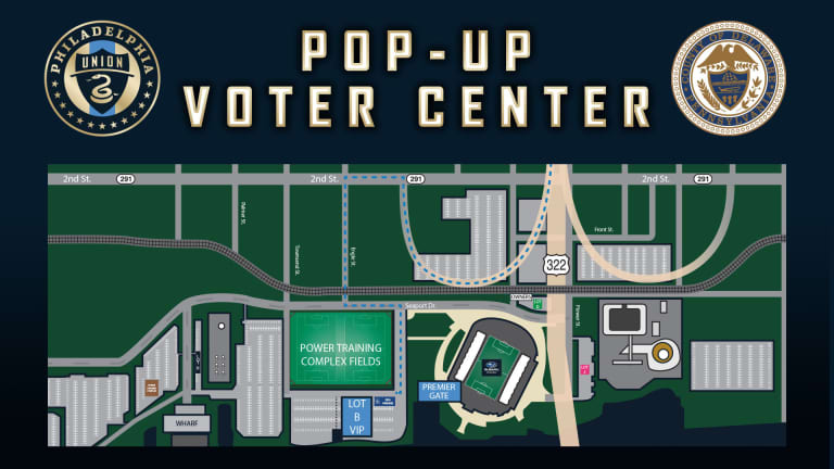 Delaware County and Philadelphia Union Host Voter Service Center on Oct. 16-18 at Subaru Park -