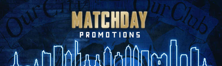 Matchday Promotions Header
