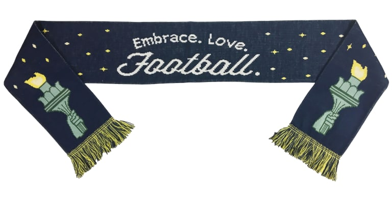 October Scarf of the Month focuses on bringing soccer to under-served communities -
