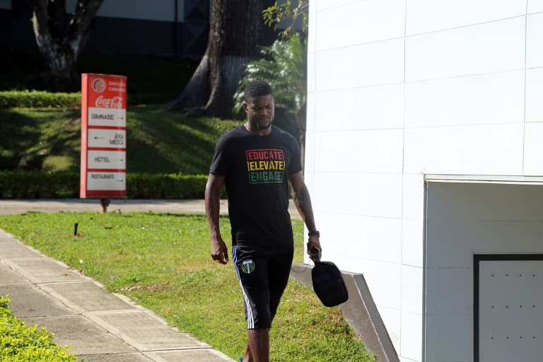 More than one month: With Black History Month t-shirt, Ebobisse setting larger goals -