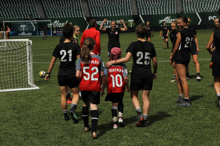 #MightyMaryn | How a seven-year-old's struggle is providing inspiration around Thorns FC -