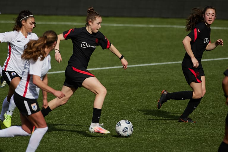 Why It Matters: Olivia Moultrie is now a full Portland Thorn - Olivia Moultrie is a Thorn