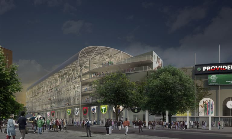 A soccer cathedral grows: Providence Park to add approximately 4,000 new seats in modern expansion -