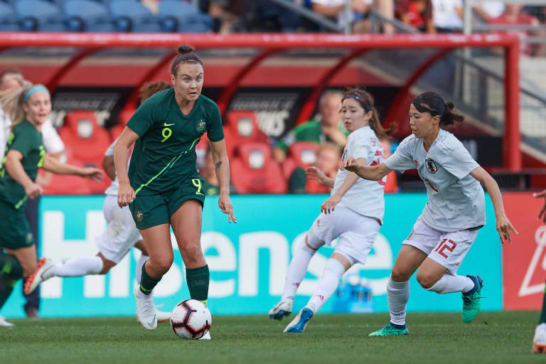 The changes that have brought Caitlin Foord back to the NWSL - Photo by Robin Alam/isiphotos.com