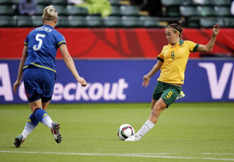 The changes that have brought Caitlin Foord back to the NWSL -