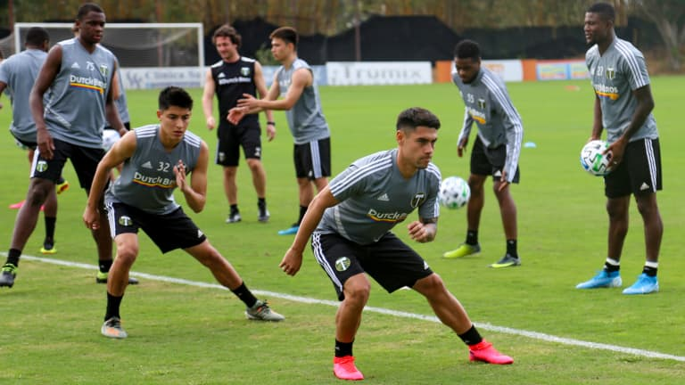 """""""They need to earn their spot"""" Timbers stocking talent across the roster to provide competition -"""