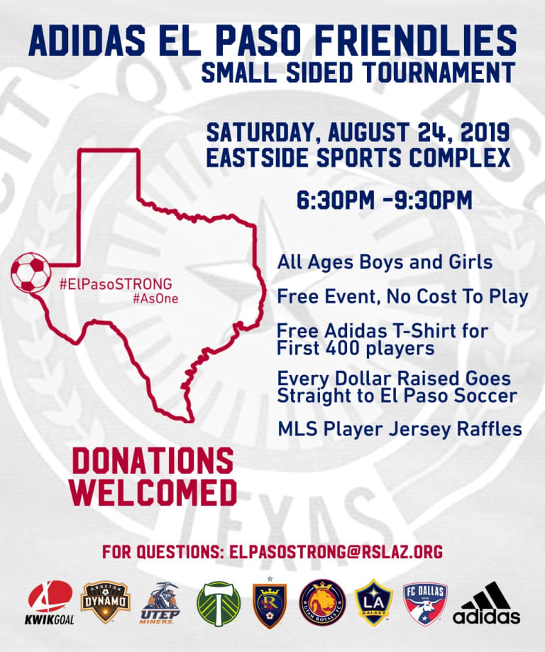 RSL AZ to Host Small-Sided Tournament Raise Funds for Local El Paso Clubs -