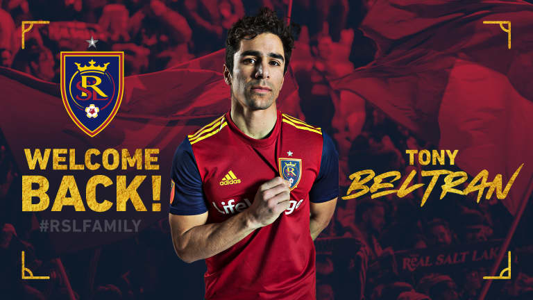Real Salt Lake Re-Signs DF Tony Beltran -