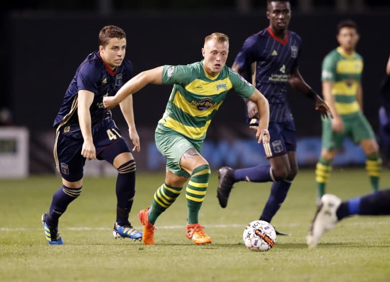 Real Monarchs SLC Ink Jack Blake on Loan From Tampa Bay Rowdies -