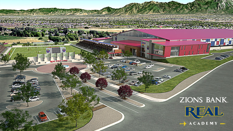 Zions Bank Real Academy new home for Real Salt Lake development pyramid  -