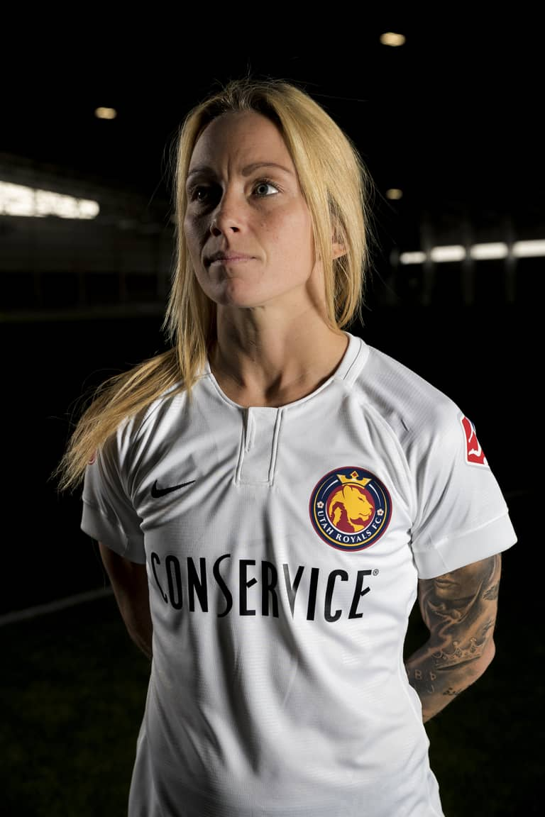 Utah Royals FC secure largest jersey-front partnership in domestic women's soccer history with Logan-based Conservice -