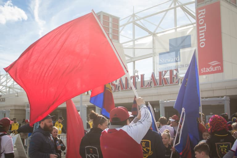 The Plaza Amplifies Fan Experience at Rio Tinto Stadium on Match Day -