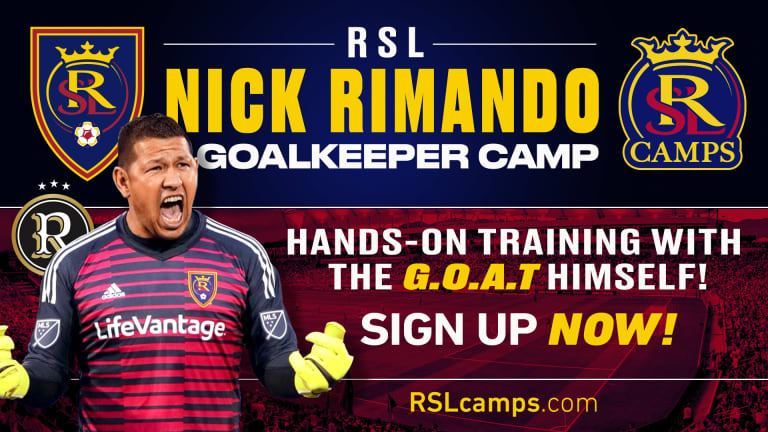 Nick Rimando Camp