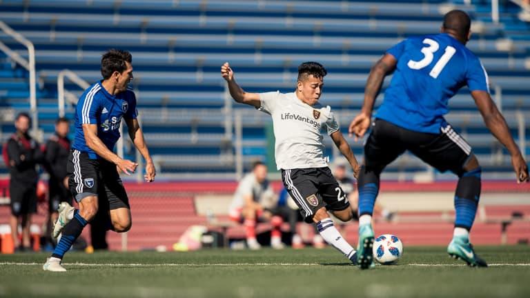 Preseason Recap: Real Salt Lake Ends Arizona Trip with 1-1 Draw Against San Jose -