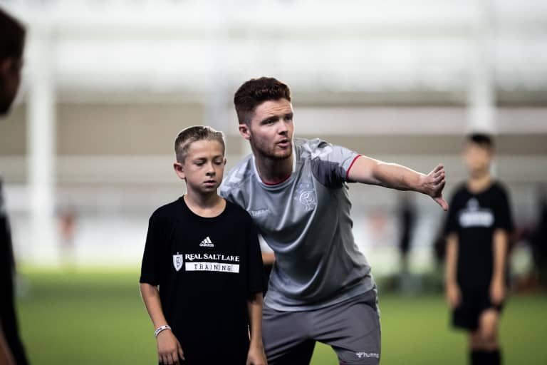 RSL Youth Development Academy, Rangers Academy Hold Youth Camp at Zions Bank Training Center -