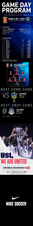 Live Stream: Monarchs vs. St. Louis FC, 7 p.m. MT -