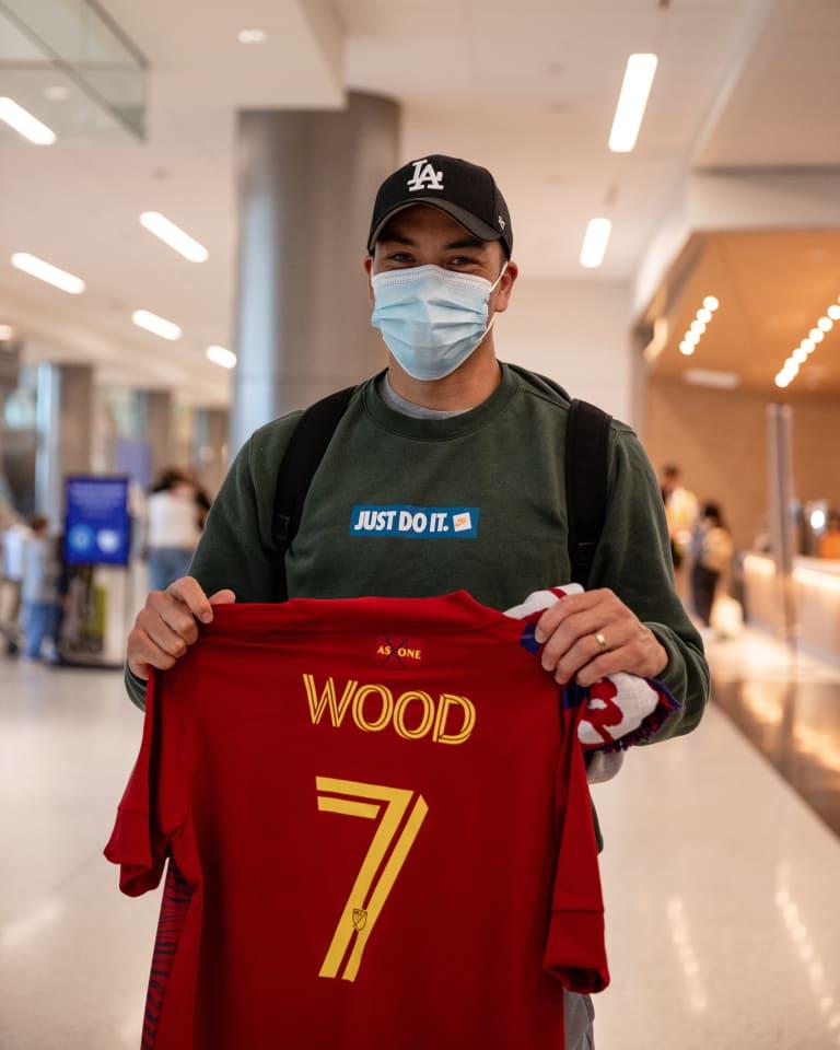 Bobby Wood Arrives in Utah -