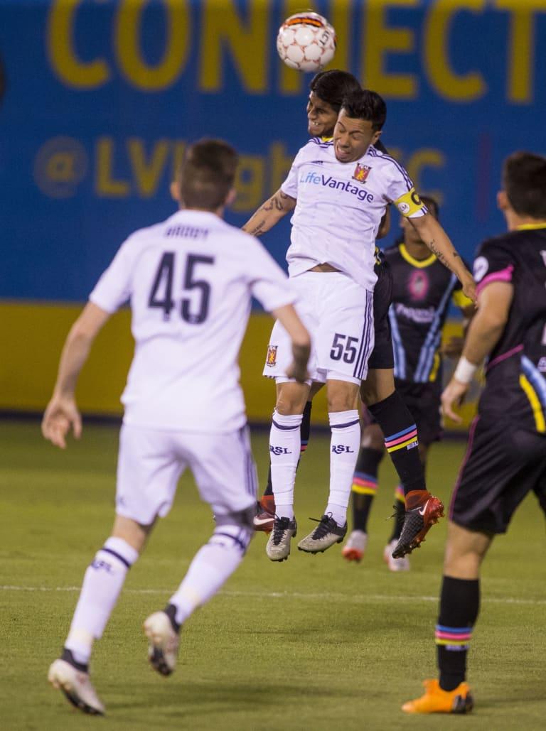Real Monarchs SLC Douse Lights FC 2-0 -
