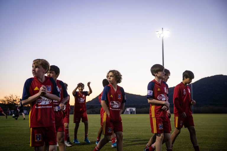 Dreams are Tangible at RSL with Extensive Growth Ladder Beginning in Arizona -