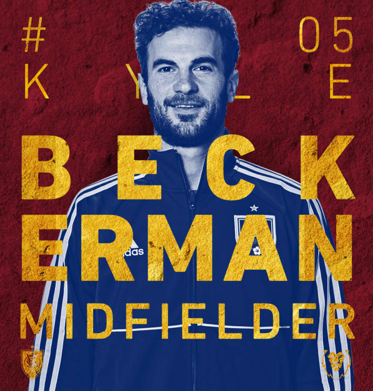 RSL re-signs Kyle Beckerman to multi-year contract -