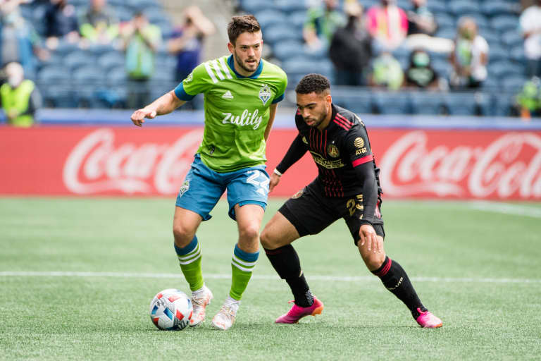 More than just a homecoming: Federal Way native Kelyn Rowe poised for major contributions with Seattle Sounders -