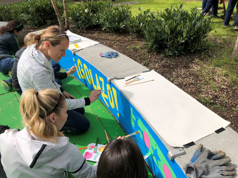 RAVE Foundation and Seattle Sounders help Bow Lake Elementary achieve greener goals -