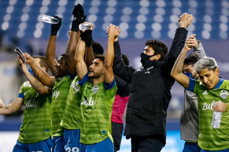 Seattle Sounders praise winning culture in gutty, professional performance against FC Dallas in Western Conference Semifinals -