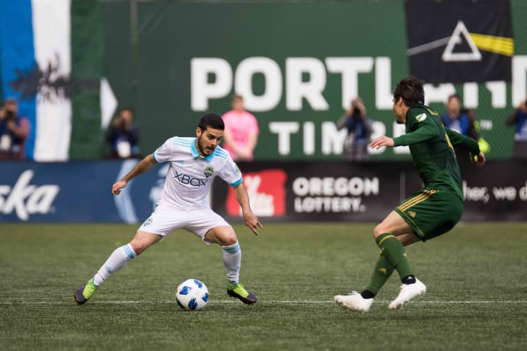 Previewing the second leg of the Western Conference Semifinals between Seattle Sounders, Portland Timbers -