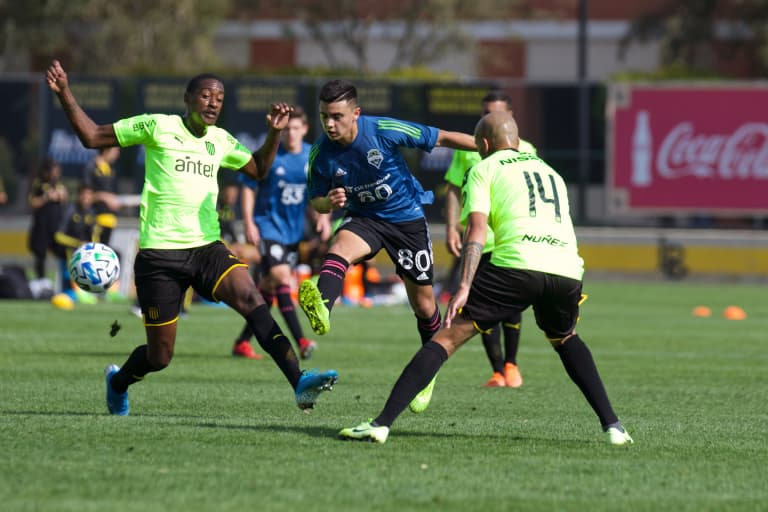 Seattle Sounders take important step forward in scrimmage against Peñarol as young players shine -