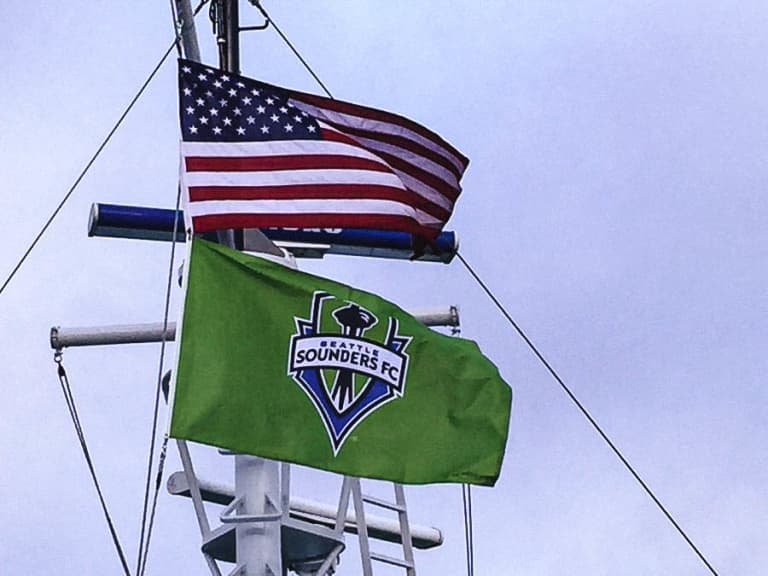 Seattle supports from home as Sounders FC travels to Columbus to take on Crew SC in 2020 MLS Cup Final this Saturday -