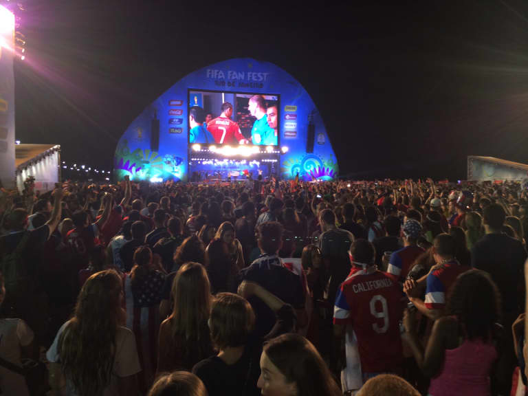 Raving In Rio - Broadcaster Matt Johnson's trip to Brazil for the World Cup (UPDATE: 07/06) -