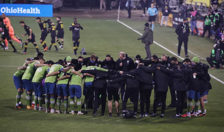Seattle Sounders rue 'squandered opportunity' to repeat as MLS Cup champions, prepared to make amends -