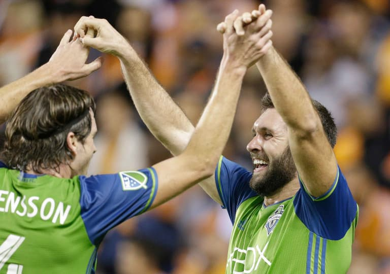Will Bruin relishes scoring against former club Houston to put Seattle in driver seat to reach MLS Cup -