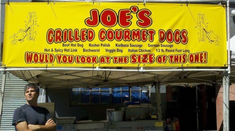 Sounders Family: Joe Bernstein, the owner of Joe's Grilled Gourmet Dogs, shares his story -