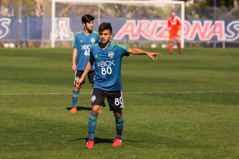 Seattle Sounders Academy standout Ray Serrano signs with S2, becomes youngest player in club history to sign pro deal -