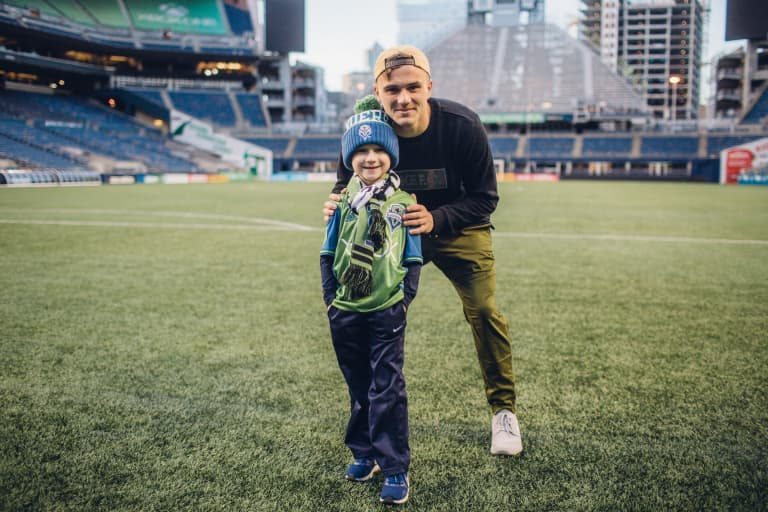 On World Diabetes Day, a look at Jordan Morris' efforts to impact lives -