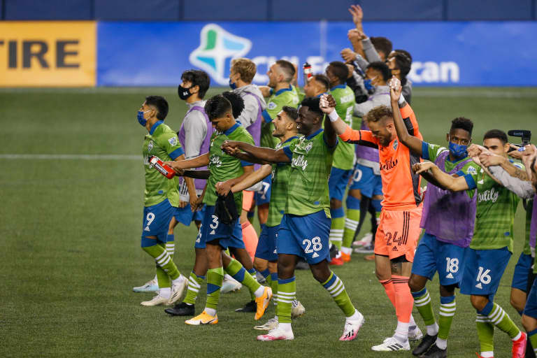 Increased depth, competition for starting spots has Seattle Sounders firing on all cylinders during brilliant run of form  -