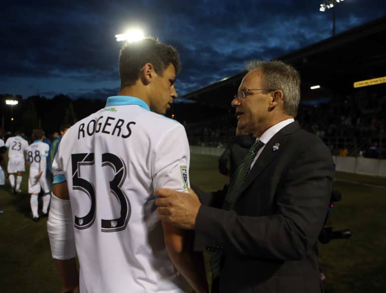 School, Sounders and studying: 18-year-old defender Sam Rogers highlights packed Tuesday with U.S. Open Cup win -