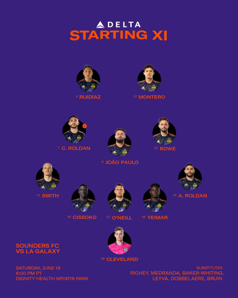 LAvSEA Starting XI: AB Cissoko makes his debut and Shane O'Neill returns to the lineup -