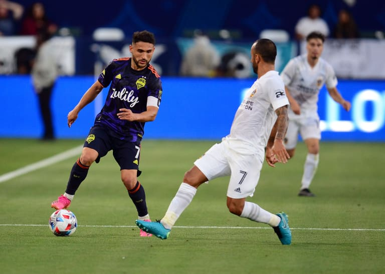 Seattle Sounders' mental toughness on full display in comeback away win at LA Galaxy -