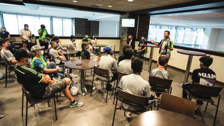 U-15 Intro Meeting Tomozawa