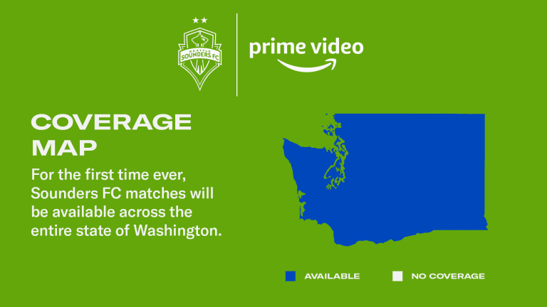 In landmark agreement, Amazon Prime Video becomes official video streaming partner of Sounders FC -