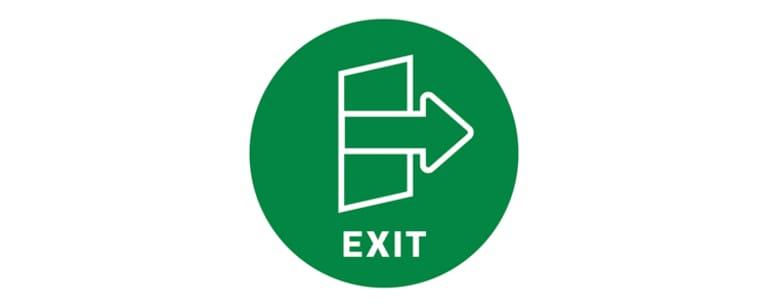 Exit Icon Test