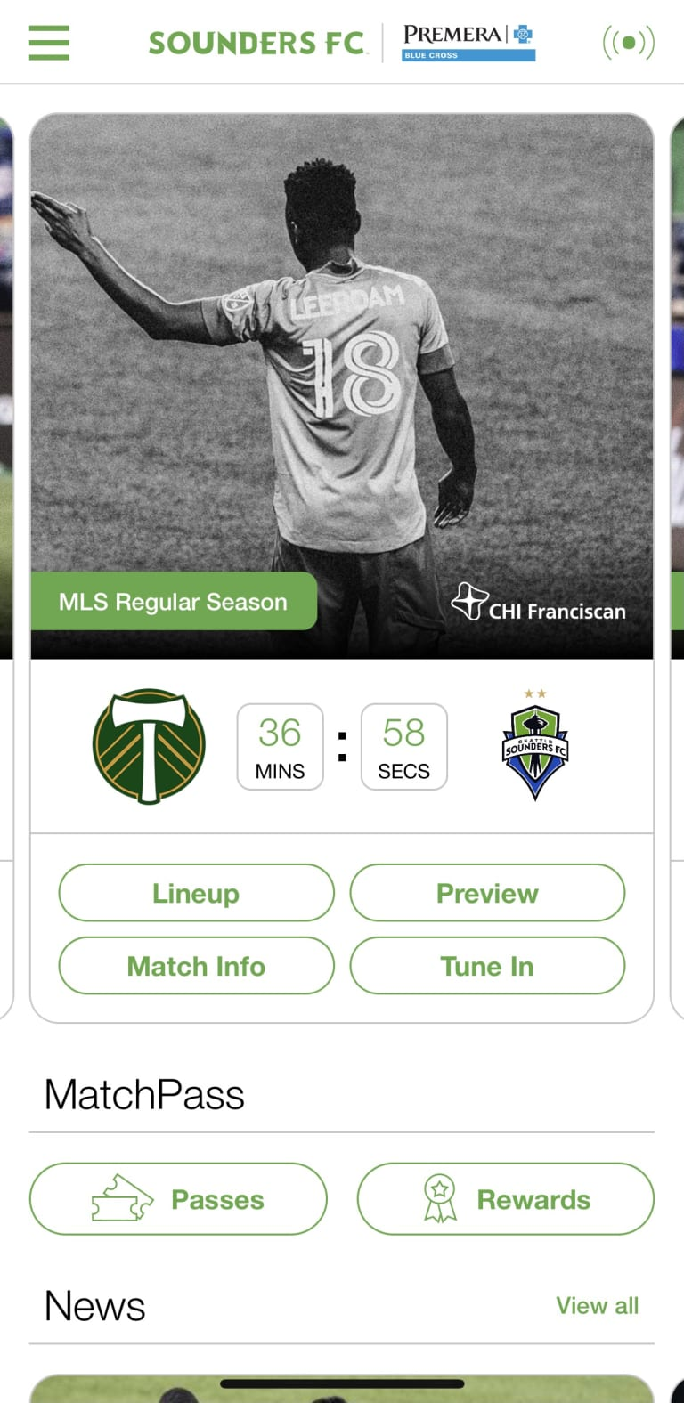 How to watch Sounders FC matches on Prime Video -