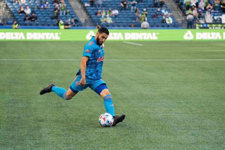 Roldan resurgence: Once cut in midfield, Alex Roldan is thriving in new right wingback position -