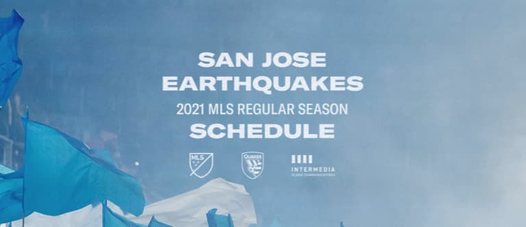 NEWS: Earthquakes Announce 2021 Regular Season Schedule -